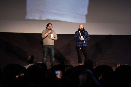 Les organisateurs programmateurs : Fausto Fasulo et Cyril Despontin @Jean-Baptiste Deucher