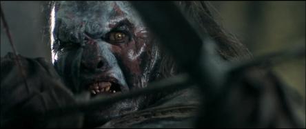 L'Uruk-hai, puissant guéri qui tue Boromir