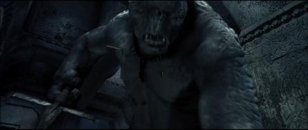 Le troll qui attaque Frodon