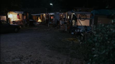 le camp de Roms