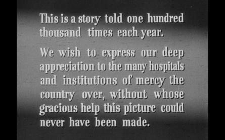 Ouverture d'Avant de t'aimer (Not Wanted), 1949